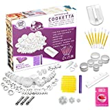 Cooketta - Ensemble de conception de 157 pièces d'emporte-pièces et moules pour tartes, pâtisseries, canapés, glaçage, gâteaux, fondant, pâtes à sucre et scones, avec un livret d'idées.