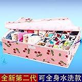 Es ist ein Cover Unterwäsche die nicht zugelassen - Gewebe der Socken Schals organisieren Fall Falten Gewebe der Abfalleimer, 17, Wasser waschen, pink Peach unterzubringen).