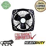 Shivako Dulex 300mm / 12 Inch - 68 Watt Fresh Air Copper Winding Exhaust Fan