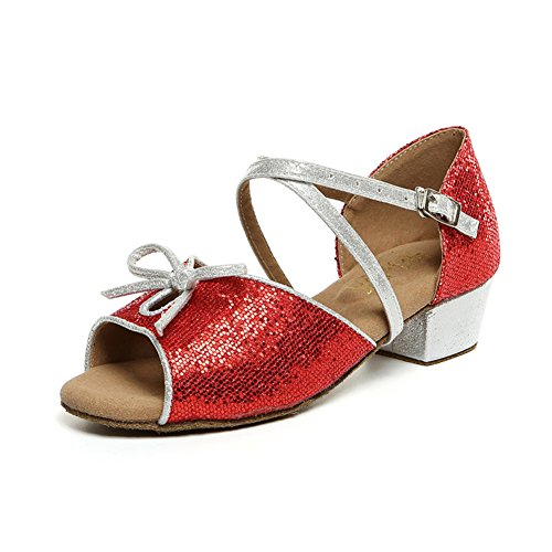 Latin Dance Schuhe für Kinder/ Latin Kinderschuhe für Mädchen/ dancing Shoes/Ballroom Dance Damenschuhe G