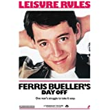 Ferris Bueller's Day Off Leisure Rules Matthew Broderick Movie Maxi Poster Print 80s - 61x91 cm