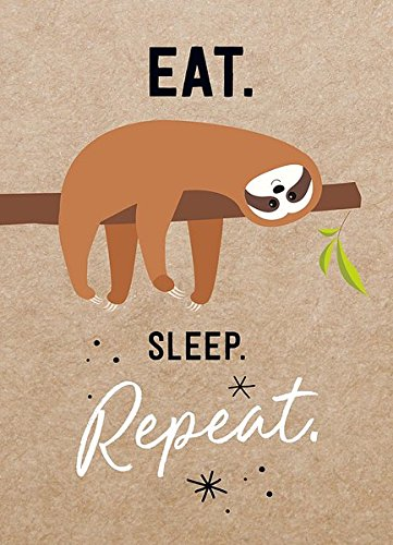 Magnet: Eat. Sleep. Repeat.
