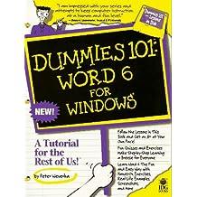Word 6 for Windows (Dummies 101)