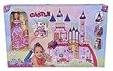 Simba Love Dream Castle Castello Principesse con Steffi ed Evi, 105733245