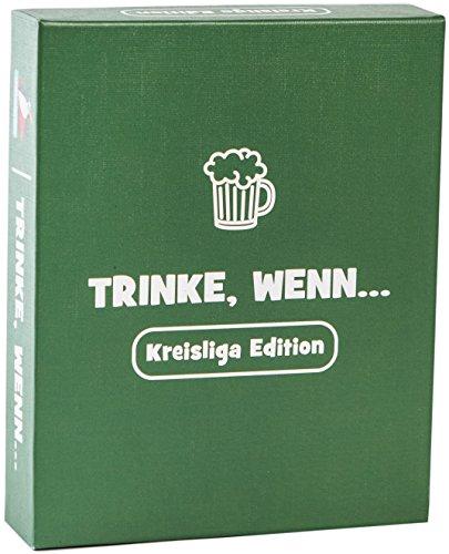 Trinke, Wenn.. Das Trinkspiel für Kreisliga Kicker - Partyspiel für Fußballer - Saufspiel - Geschenke für Männer zum Saufen oder Wichtelgeschenk als Scherzartikel Bruder
