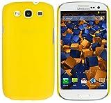 mumbi Schutzhülle Samsung Galaxy S3 i9300 Hülle matt gelb
