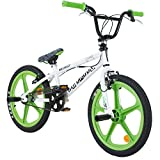 20 Zoll BMX Rooster Big Daddy Skyway SPECIAL EDITION Mag Felgen, Farbe:weiss/grün