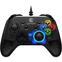 GameSir T4W PC Controller Wired Game Controller for Windows 10/8.1/8/7 Dual Shock Game Gamepad