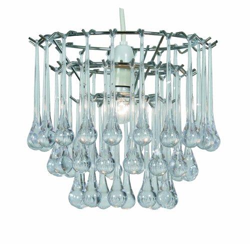 Oaks Lighting - Lampadario in cromo lucido e (Chrome Finish Low Energy)