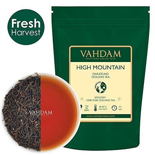 Hojas de té Oolong de alta montaña de Himalaya (50 tazas), 100gr, TÉ OOLONG PARA PÉRDIDA DE PESO, 100% de té de desintoxicación natural, té para perder peso, té adelgazante | Té de hojas sueltas