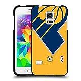 Head Case Designs Offizielle NBA Überdimensionierte Symbol Indiana Pacers Soft Gel Hülle Schwarz für Samsung Galaxy S5 Mini