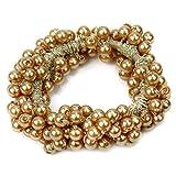 Haargummi Haarschmuck Kunststoff Perlen Zopfband Haarband Perlen Gummi Haarseil