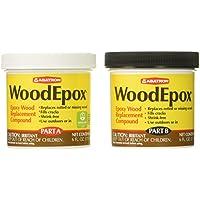 Abatron Compuesto de reemplazo de epoxi madera (Parte A & B) - frascos de 6 oz