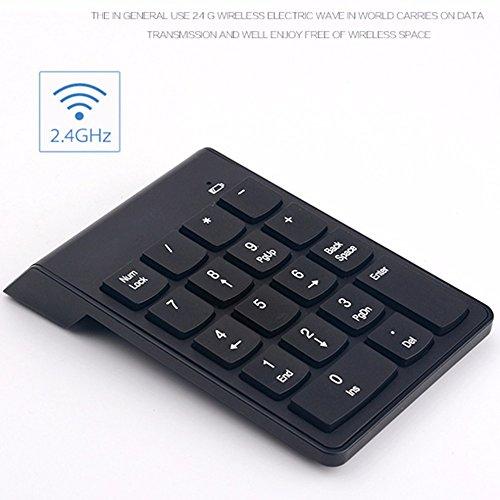 Generic 2.4G Wireless Numeric Chocolate Keyboard Ergonomics Chocolate ABS Plastic Key Keyboard Plug-and-play For Laptop Desktop In stock