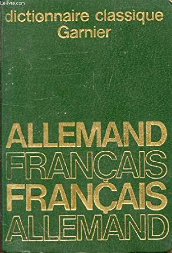 Dictionnaire allemand-français et français-allemand.