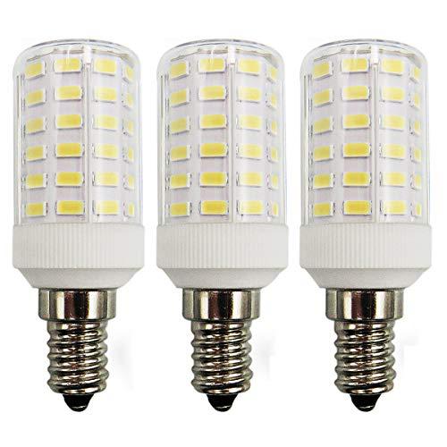 7W Mais LED E14 Kaltweiß Glühbirne 100W Kleine Edison-Schraube Kerze Leuchtmittel Ersatz Super Hell 6500K Nicht Dimmbar für Wandlampe Zylinder Birnen, 3er Pack [MEHRWEG] -