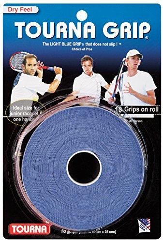 Unique Tennis Griffbänder Tourna Grip Standard Blau 10er, TG-10 (Tennisschläger Für Standard Griff)