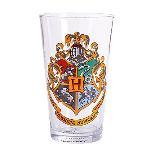 Harry Potter - Hogwarts Wappen - Glas - -
