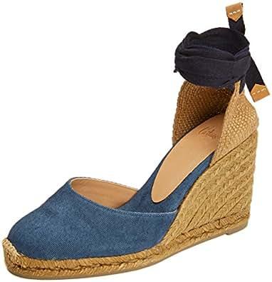 Castañer Damen Carina8Ss18002 Espadrilles, Blau (Jeans 308), 36 EU