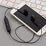 Chirde Bluetooth Kopfhörer in Ear V4.1 10 Meter Reichweite magnetisch Sport Kopfhörer Ohrhörer für iPhone, Apple Watch, Android, Echo Dot und Weitere Geräte (Schwarz)