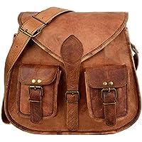 🌈 SALE! Handgefertigte Leder Frauen Handtasche Umhängetasche Crossbody Satchel Damen Tote Reise Geldbörse aus echtem Leder 10 x 13 Zoll| LAGERBESTAND Begrenzt