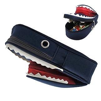 Artone Multi-Functional Gran Capacidad Tiburón Estuche Bolso De La Pluma Pounch