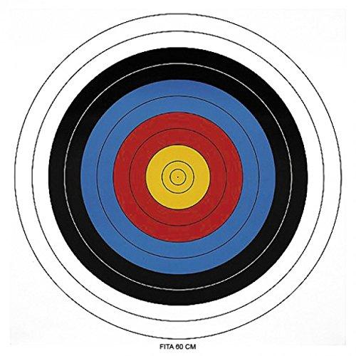 BKL1® Papierzielscheibe 60cm ! Bogenschießen Armbrust Ziel Recurve Compund 1096