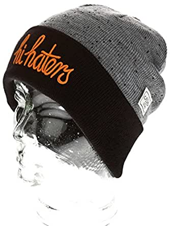 Cayler_and_sons - Bonnet Hi Haters Noir Gris Cayler And Sons