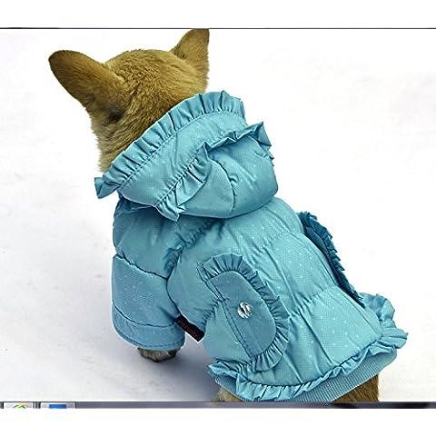 pet cotone cappotto caldo inverno morbide felpe accoglienti scompiglia decorazione