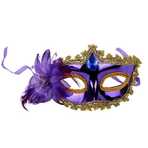 Damen Party Maske, CICIYONER Halloween Kostüm Venezianische Maskerade Prom Maske (Kostüme Batman Kind Fett)