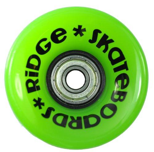 Ridge Skateboard Mini Cruiser, schwarz-grün, 22 Zoll -
