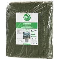 Toldo reforzado gramaje 120 grs, 3 x 2 m, color verde - Catral 560101