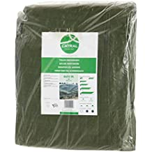 Catral 56010002 - Toldo reforzado gramaje, 0.1 x 300 x 400 cm, color verde