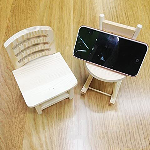 XBR holzstuhl _ kreative hölzerne regal handy mini hölzernen stuhl kleine kiefern,* 9 * 15.8cm 9,5