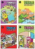 Tinkle Digest Comics: Set of 7 Single Digest Books (Includes Tales of Tantri Mantri, Suppandi & Shambhu) | Assorted…