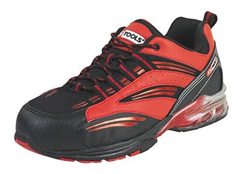 KS Tools 310.1600 Chaussures de sécurité - Modèle coussin d'air rouge T37