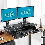 VARIDESK Pro Plus 36 Stehtisch, höhenverstellbar, Schwarz - 2