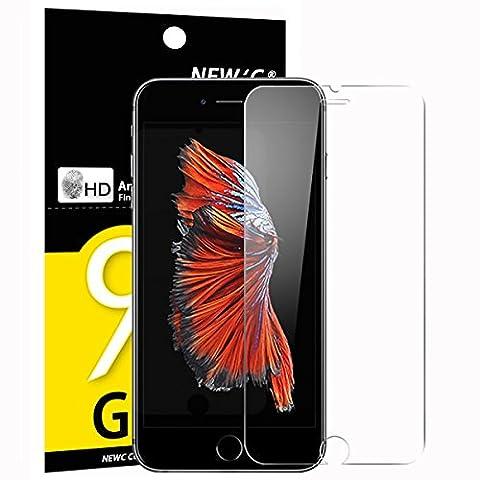 Verre Trempé iPhone 6 / 6S, NEWC® Film Protection en