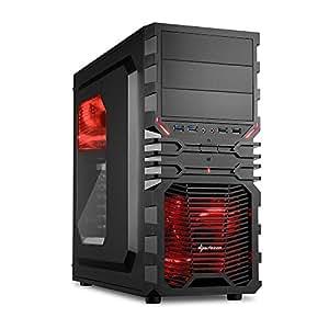 ANKERMANN PC Gamer EXTREME 599D4AMD Black Edition Series 4965(4x 3.40GHz) NVIDIA GeForce GTX 6502GB–8GB DDR3–2000GB HDD Capacity Card Reader FX-4350 GTX-750Ti 8GB 1TB