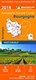 Carte Bourgogne Michelin 2019