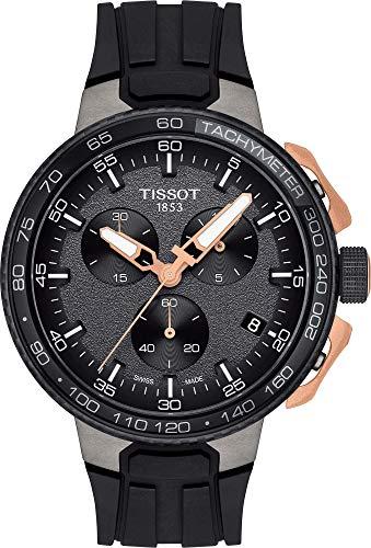 Tissot Herren-Uhren Analog Quarz One Size Kautschuk 87487601