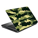 Vprint Heartly Military Camouflage Pattern Design Laptop Skin Sticker (14 to 14.9 inch) | Patterns