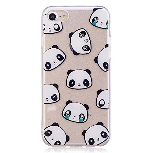 iPhone 7 Fall, xinyiyi stoßfest Soft Shell Langlebig kratzfest iphone 7 TPU Schutzhülle Expression bear bear