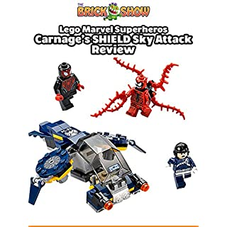 Review: Lego Marvel Superheroes Carnage's SHIELD Sky Attack Review