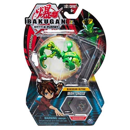 BAKUGAN Spin Master Battle Planet - Mantonoid - 8cm Ultra Battle Brawlers und Sammelkarte