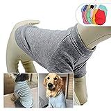 Lovelonglong 2019Dog Pullover Felpa Autunno Inverno Freddo Meteo Dog t-Shirt per Piccoli Cani di Grande Taglia Media 100% Cotone qualità
