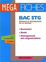 Economie-Droit-Management des organisations Bac STG (Ancienne Edition)