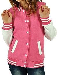 CBKTTRADE Damen College Jacke Old School Jacket Sweat Jacke Fox Hooded Boxusa
