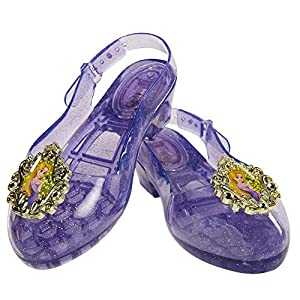 Jakks Pacific Zapatos Princesa Disney con luces Rapunzel