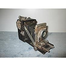 Diseño de un modelo antiguo de cámara fotográfica de poliresina 16 x 10 cm
